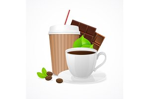 Coffee Concept. Vector