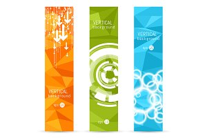 Vector banner backgrounds.