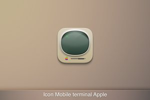 Icon Mobile Terminal in Sketch3