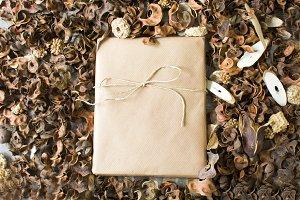 Rustic gift box