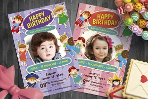 Kid Birthday invitation