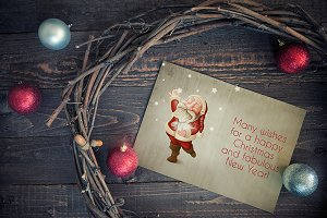 Christmas greeting card - n° 3