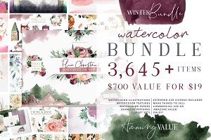 Watercolor Bundle - Designer Deal