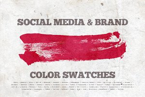 Social Media & Brand Swatches