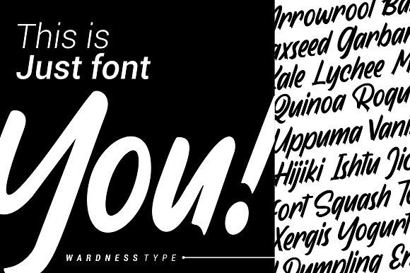 Wardness in Display Fonts - product preview 4