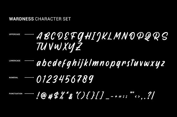 Wardness in Display Fonts - product preview 7