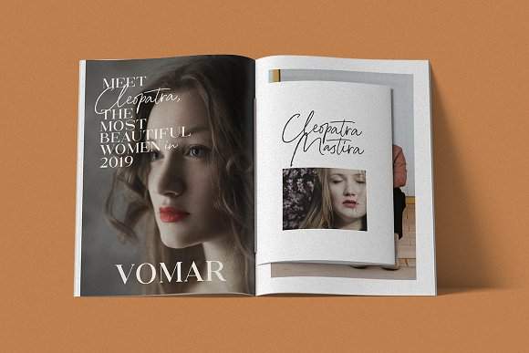 North Avellion - Script & Serif Duo in Display Fonts - product preview 6