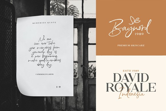 North Avellion - Script & Serif Duo in Display Fonts - product preview 7