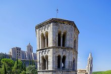 Sant Pere de Galligants, Benedictine abbey, Girona, Spain.jpg
