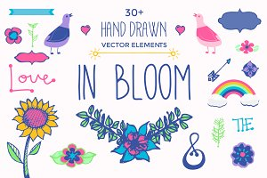 In Bloom: Vector Pack