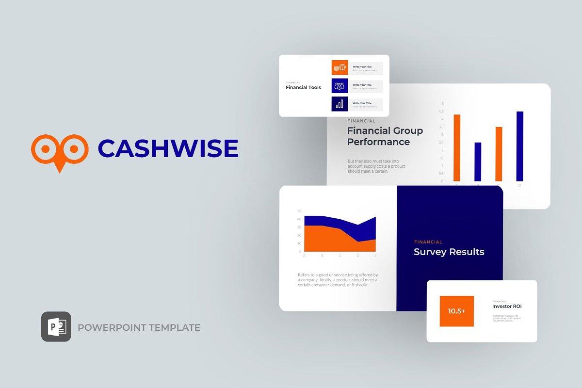 Cashwise Finance Powerpoint Template Powerpoint Templates