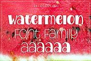 Watermelon Font Family