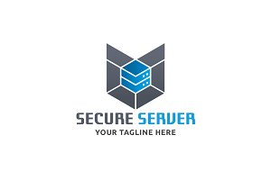 Secured Server Logo