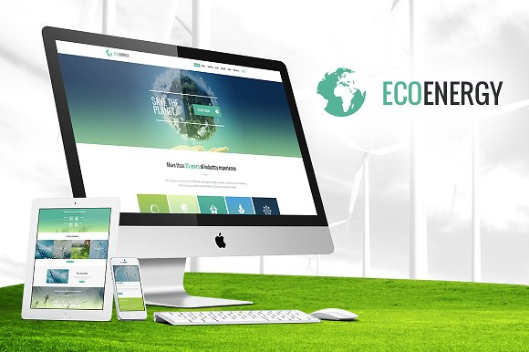 ECO Energy - Ecology WordPress Theme