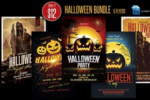 Hallowenn Flyer Bundle
