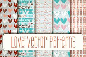 Love Vector Patterns