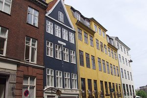 Colorful Row houses on Nyhavn