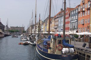 Looking back at Nyhavn