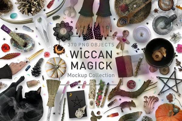 Wiccan Magick Mockup Collection