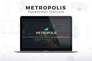 Metropolis Powerpoint Template