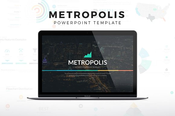 metropolis powerpoint template presentations