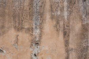 Old damaged street wall