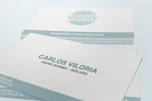 Business Card Mockup 04
