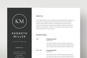 Kenneth Miller - Resume/CV Template