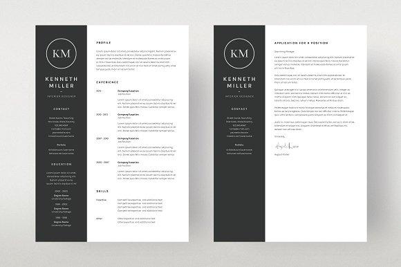 resume cv template download 35 free creative resume cv