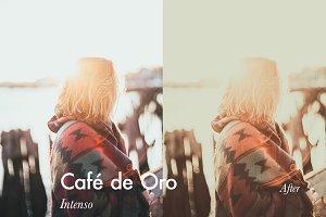 Café de Oro - 5 Lightroom Presets