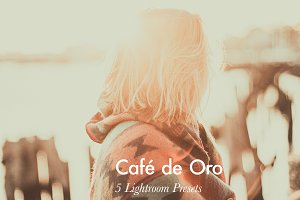 Café de Oro - 5 Lightroom Presets