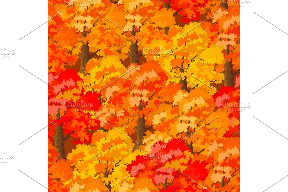 Seamless Autumn Forest