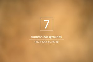 Autumn backgrounds - Nature colors