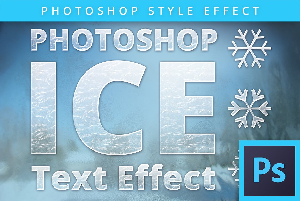 Frosted glass text effect psd layer styles creative market baditri Choice Image