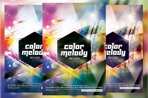 Color Melody Flyer