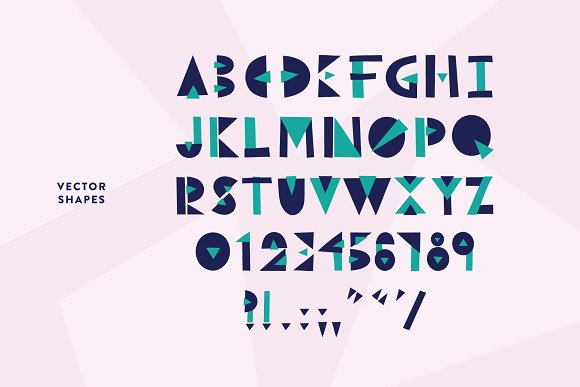 Break Thru - Geometric Font in Display Fonts - product preview 4