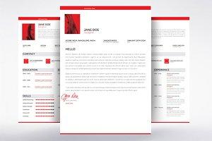 Swiss Style Minimal Resume