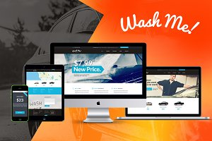 WashMe! - Car Wash & Repair Theme