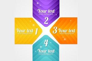 Modern Glossy Infographics Set