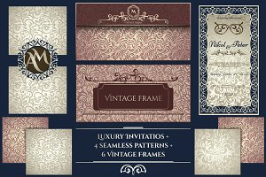 Invitations Collection + 4 Patterns