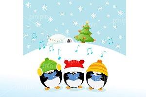 Caroler Penguins