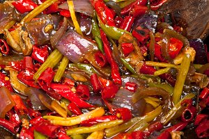 fried chili pepper and vegetables 003.jpg