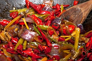 fried chili pepper and vegetables 004.jpg