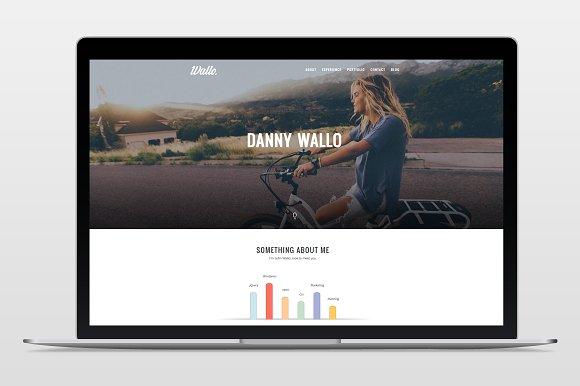 Wallo - Onepage Wordpress Theme