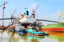Shipyard in Bangkok