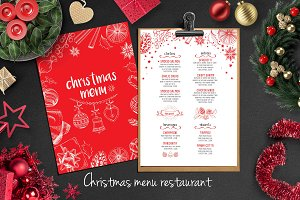 Food menu, restaurant flyer #14