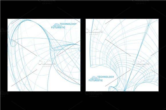 Abstract technology in Illustrations - product preview 1