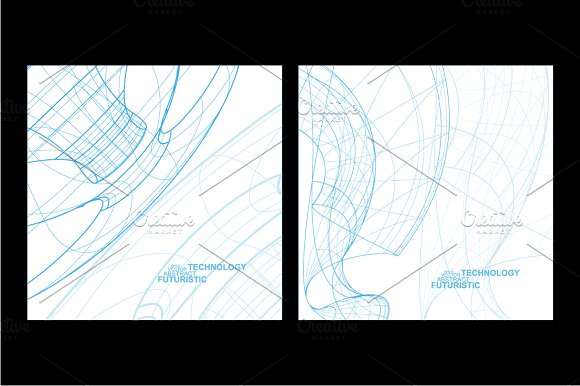 Abstract technology in Illustrations - product preview 2