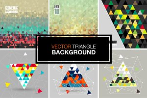 Vector modern backgrounds