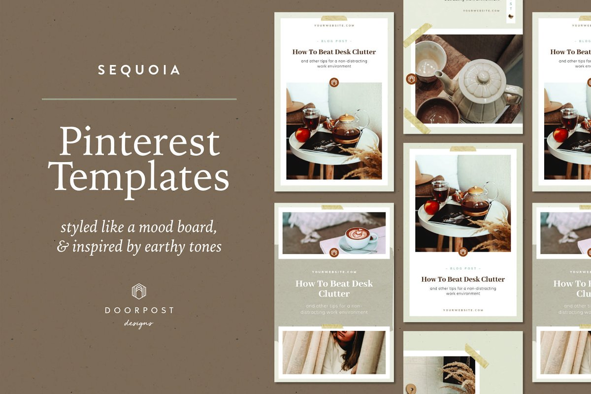 Pinterest Canva Templates | Sequoia